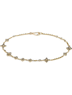 ANNOUSHKA Frost 14kt yellow-gold and sapphire bracelet
