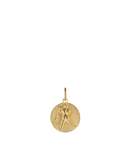 ANNOUSHKA Aquarius 18ct yellow gold pendant