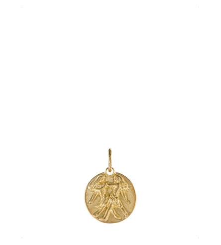 ANNOUSHKA Mythology Gemini 18ct yellow-gold pendant