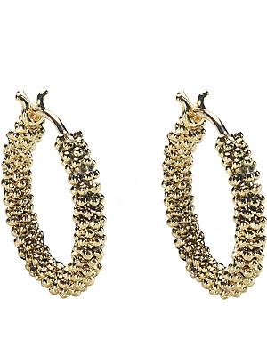 ANNOUSHKA Alchemy 18kt yellow-gold hoop earrings