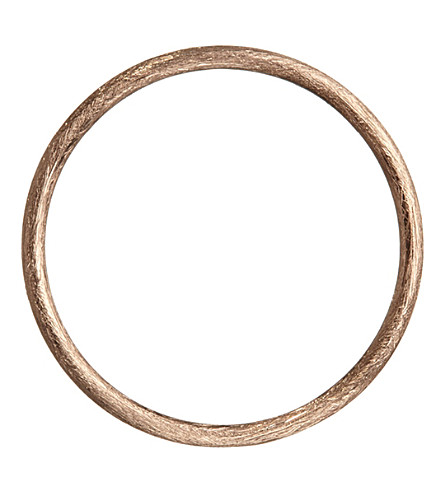 ANNOUSHKA 18ct rose gold hoopla hoop