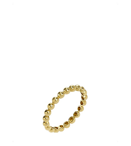 ANNOUSHKA Alchemy 18ct yellow gold bauble ring