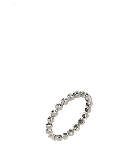 ANNOUSHKA Alchemy 18ct white gold bauble ring