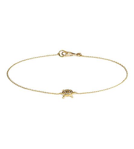 ANNOUSHKA Love Diamonds Turtle 18ct gold bracelet