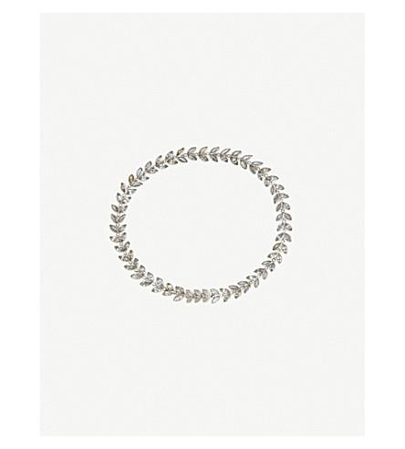ANNOUSHKA Vine 18ct white-gold and sapphire bracelet