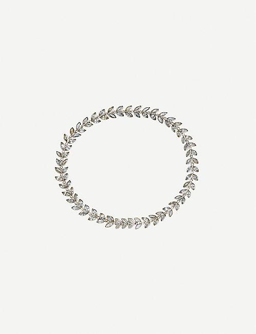 Bracelet Pour Les Femmes, Noir, Cuir, 2017, Taille Alexander Mcqueen