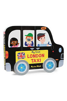 WH SMITH Whizzy Wheels: My First London Taxi by Marion Billet