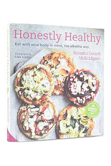 WH SMITH Honestly Healthy by Natasha Corrett and Vicki Edgson