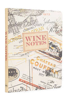 WH SMITH Wine Notes by Ryland Peters & Small