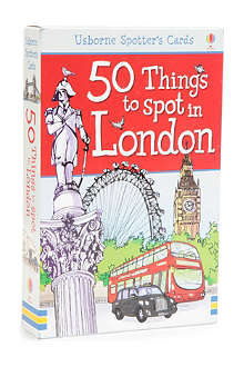 WH SMITH 50 Things to Spot in London by Rob Lloyd Jones and Carlo Stanga