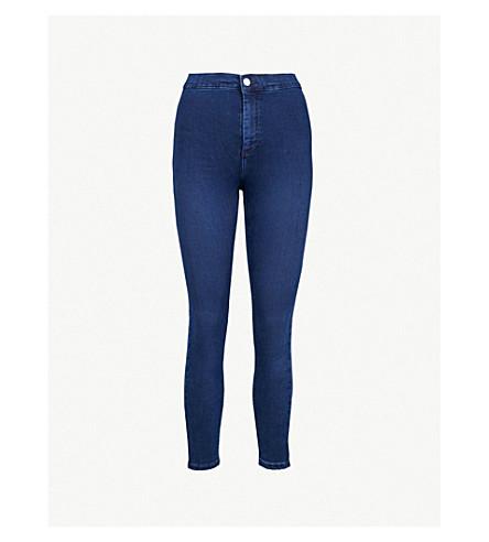 TOPSHOP Joni super-skinny high-rise jeans (Indigo+denim
