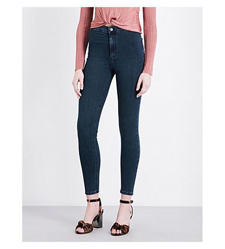 TOPSHOP Joni high-rise super-skinny jeans (Indigo