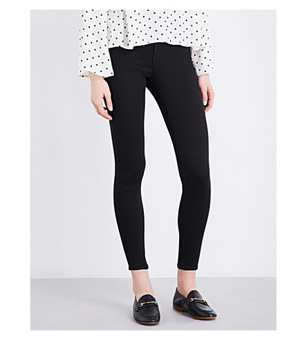 TOPSHOP Joni super-skinny high-rise jeans (Black