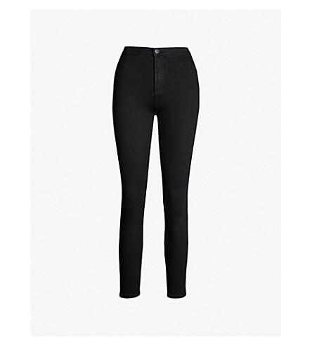 TOPSHOP Joni high-rise skinny jeans (Black