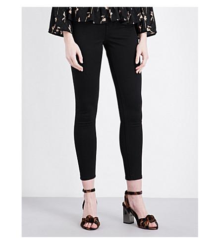 TOPSHOP Jamie high-rise skinny jeans (Black