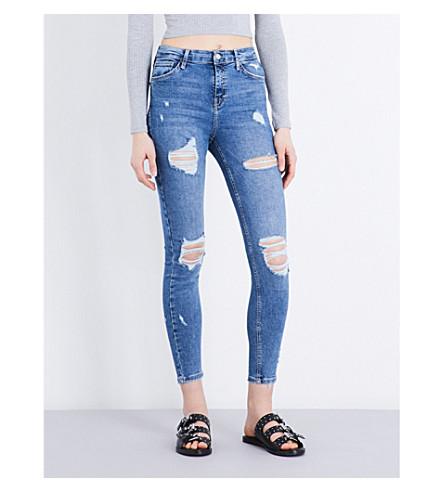 TOPSHOP Jamie high-rise skinny jeans (Indigo