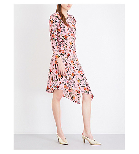 TOPSHOP Britcentric crepe dress (Pink