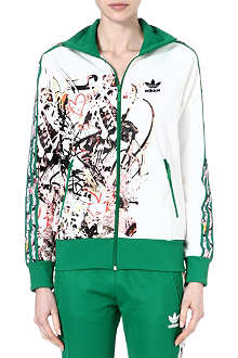 TOPSHOP X ADIDAS ORIGINALS Firebird zip front tracksuit top