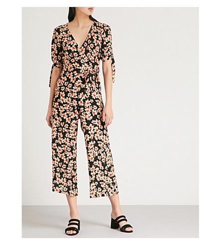 TOPSHOP Amber Daisy woven jumpsuit Multi Clearance Store For Sale Ebay A6yrk