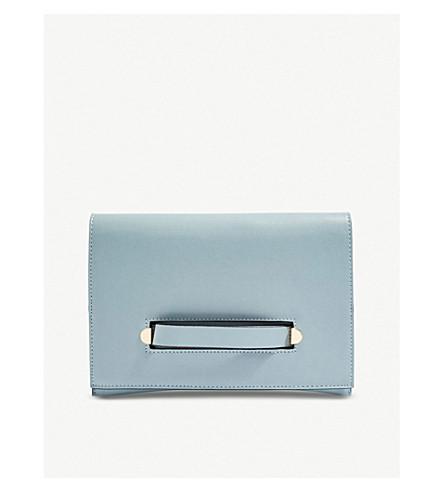 azul cruzado TOPSHOP Brogan bolso PVC wqxpRa7B