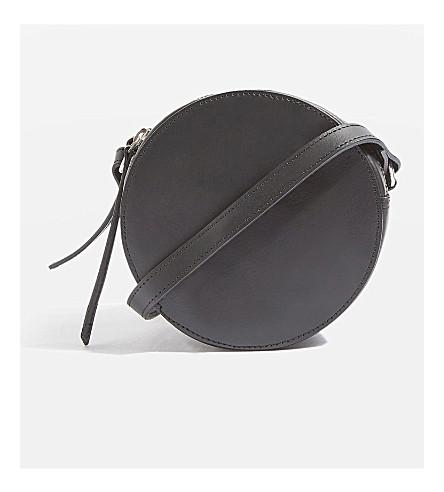 TOPSHOP Orlo leather cross-body bag (Black
