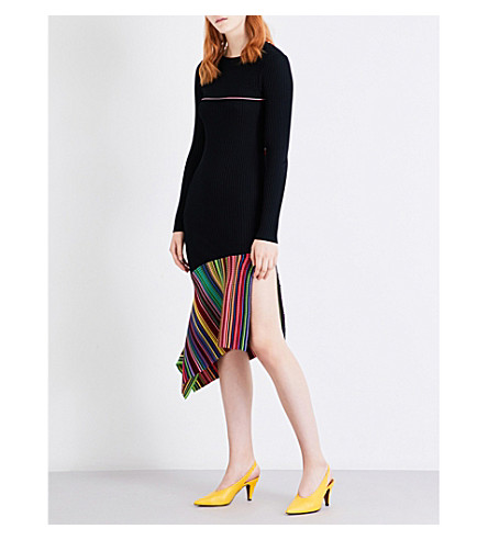 TOPSHOP Unique Second Summer knitted dress (Multi