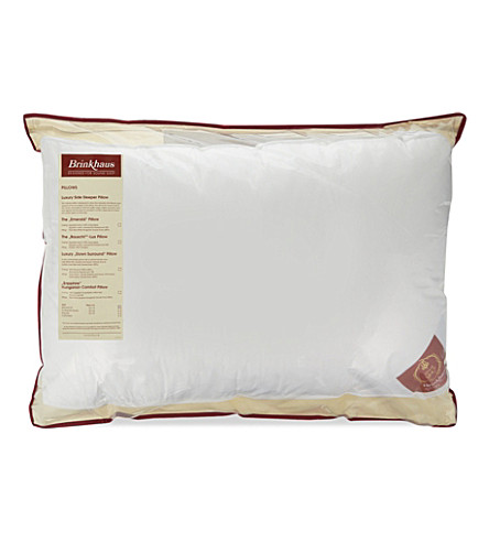 BRINKHAUS Bauschi®-Lux baffle edge side sleeper pillow