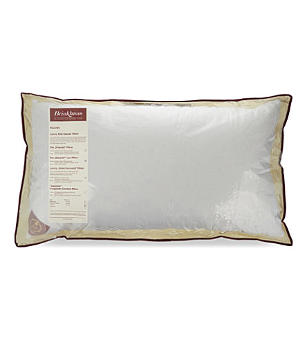 BRINKHAUS Bauschi®-Lux baffle edge king size pillow