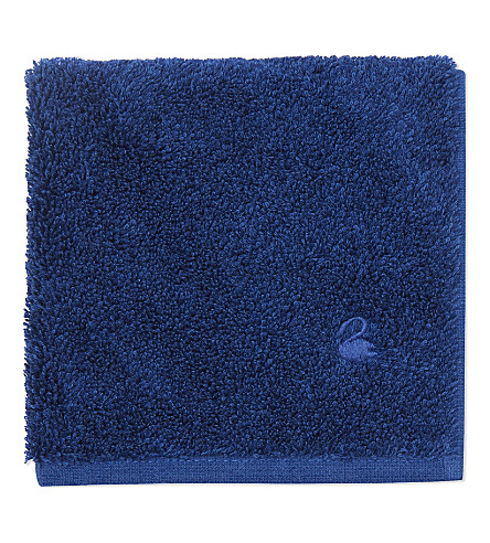 YVES DELORME Étoile cotton wash cloth (Saphir