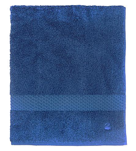 YVES DELORME Étoile cotton guest towel (Saphir