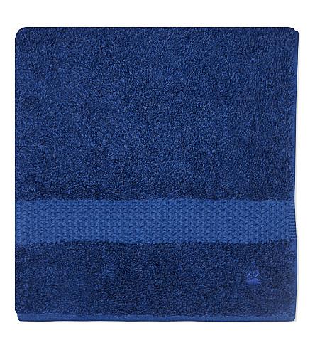 YVES DELORME Étoile cotton hand towel (Saphir