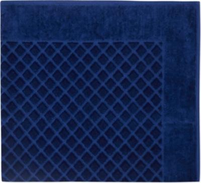 Yves Delorme 201 Toile Quilted Cotton Bath Mat Selfridges Com