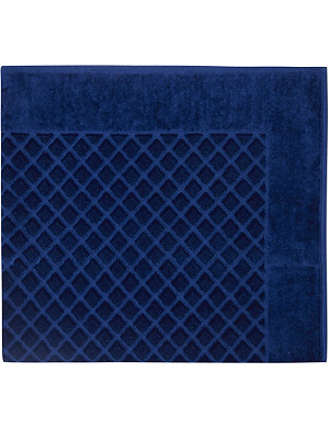 YVES DELORME Étoile quilted cotton bath mat