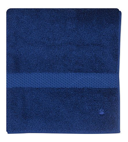 YVES DELORME Étoile cotton bath towel (Saphir