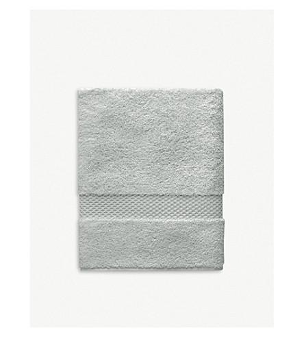 YVES DELORME 棉浴巾 140厘米 x 70厘米 (白金