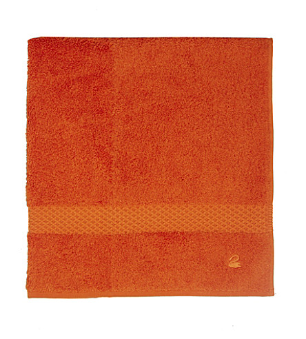 YVES DELORME Étoile cotton guest towel (Orange