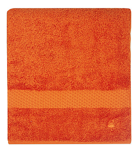 YVES DELORME Étoile cotton hand towel (Orange