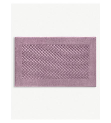 YVES DELORME Étoile cotton bath mat (Bruyere