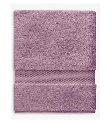 YVES DELORME Étoile cotton guest towel (Bruyere