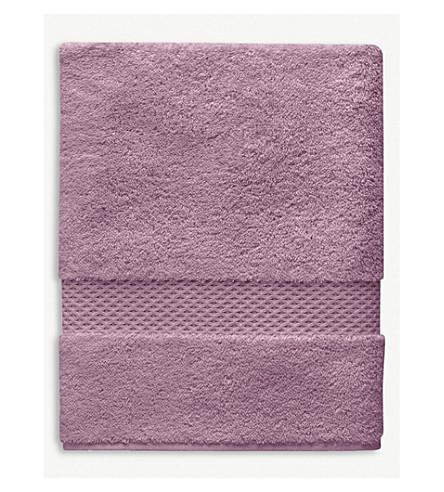 YVES DELORME Étoile cotton hand towel (Bruyere