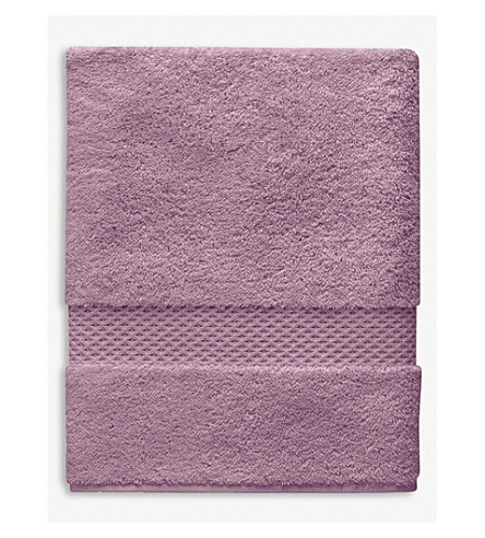 YVES DELORME Étoile cotton bath towel (Bruyere