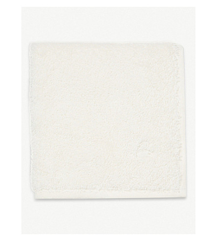 YVES DELORME Étoile cotton face cloth (Nacre