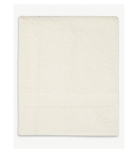 YVES DELORME Étoile cotton guest towel (Nacre