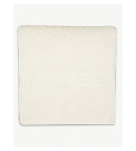 YVES DELORME Étoile cotton bath towel (Nacre