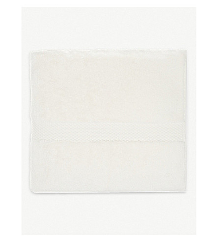 YVES DELORME Étoile cotton bath sheet (Nacre