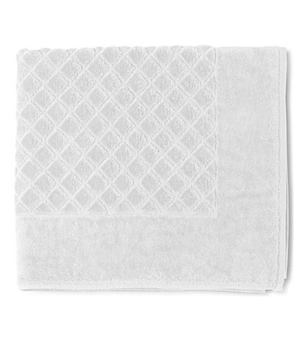 YVES DELORME Etoile bath mat (Blanc
