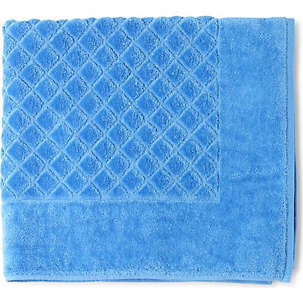 YVES DELORME Etoile bath mat (Cobalt