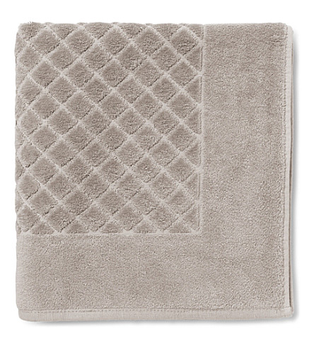 YVES DELORME Étoile cotton bath mat (Pierre