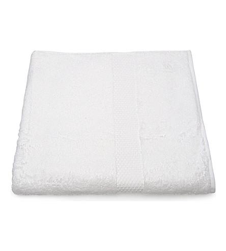 YVES DELORME Etoile bath sheet white (Blanc