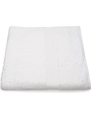 YVES DELORME Etoile bath sheet white